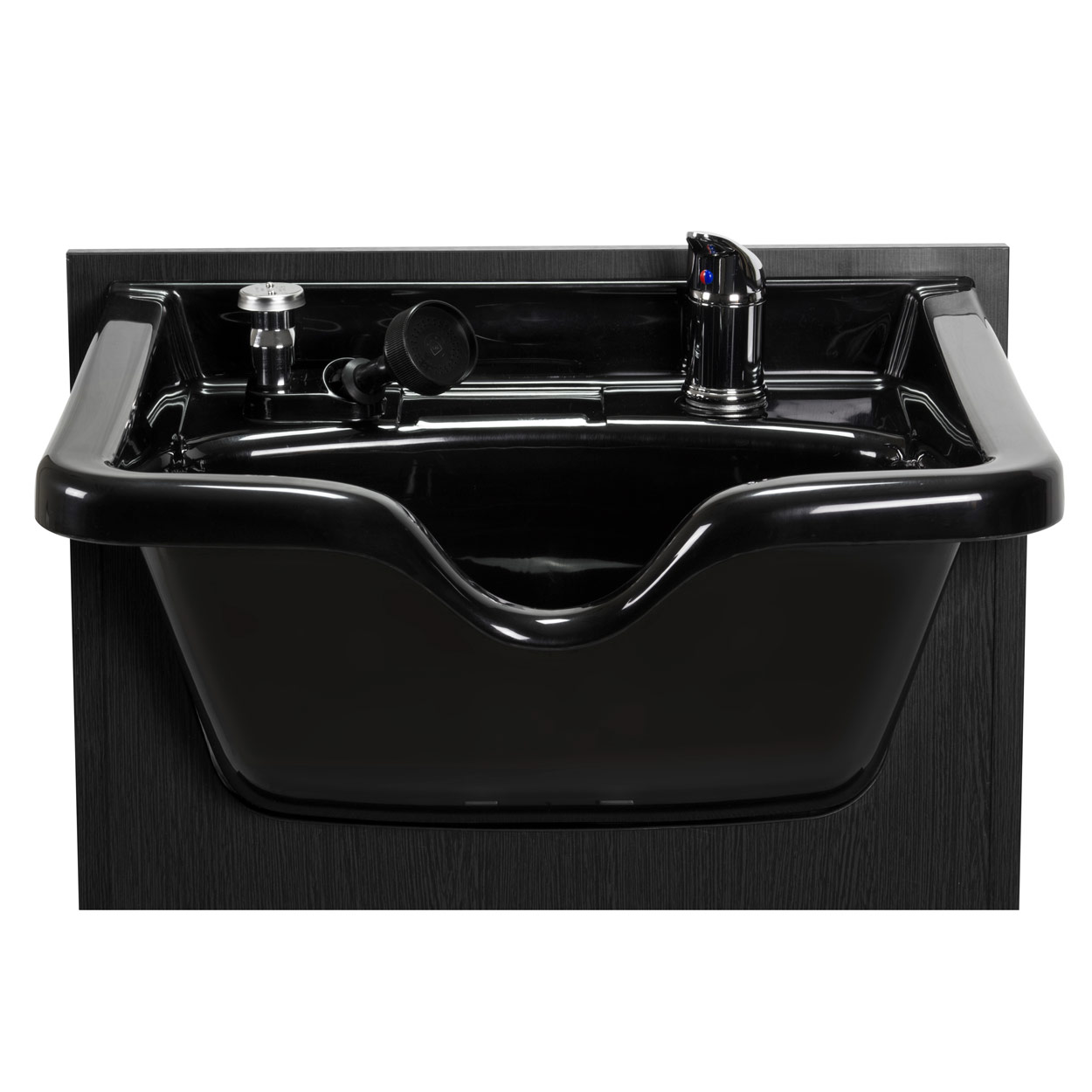 Black Shampoo Bowl With Cabinet Station alternative product image 2