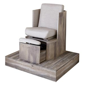 Belava - Dorset Pedicure Spa Chair with Platform - Plumbing Free product image