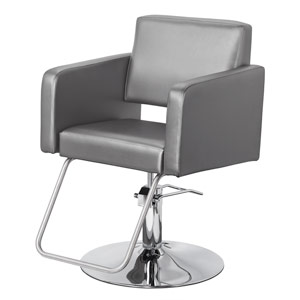 Modin Hair Salon Styling Chair in Grey or White product image