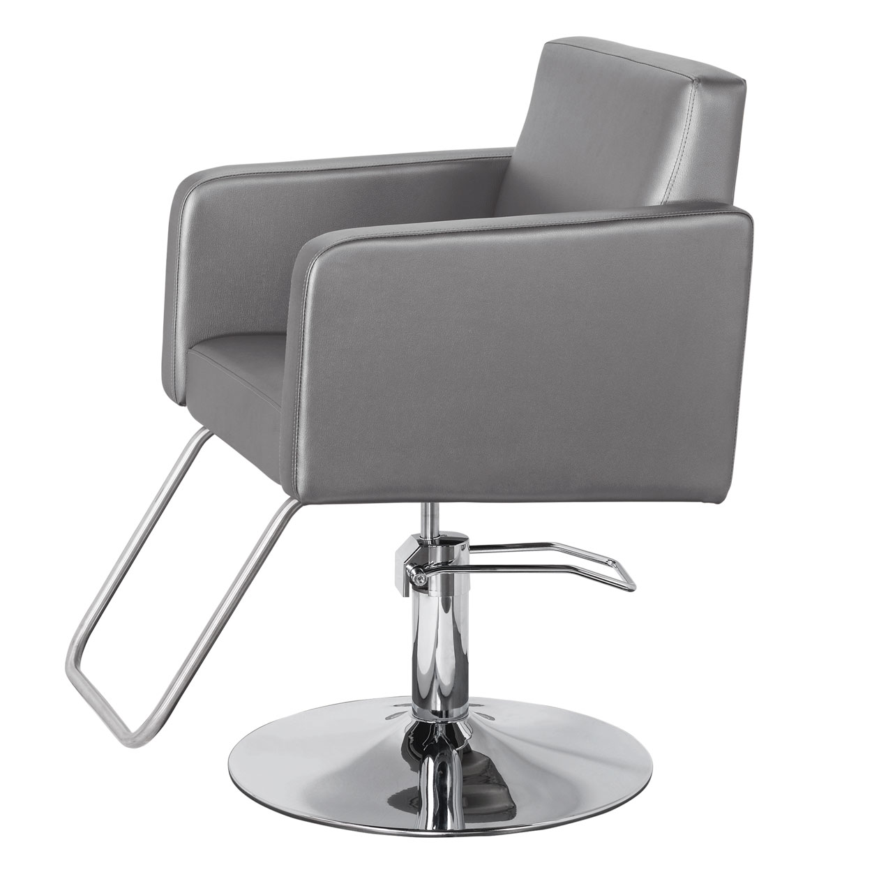 Modin Hair Salon Styling Chair in Grey or White alternative product image 1