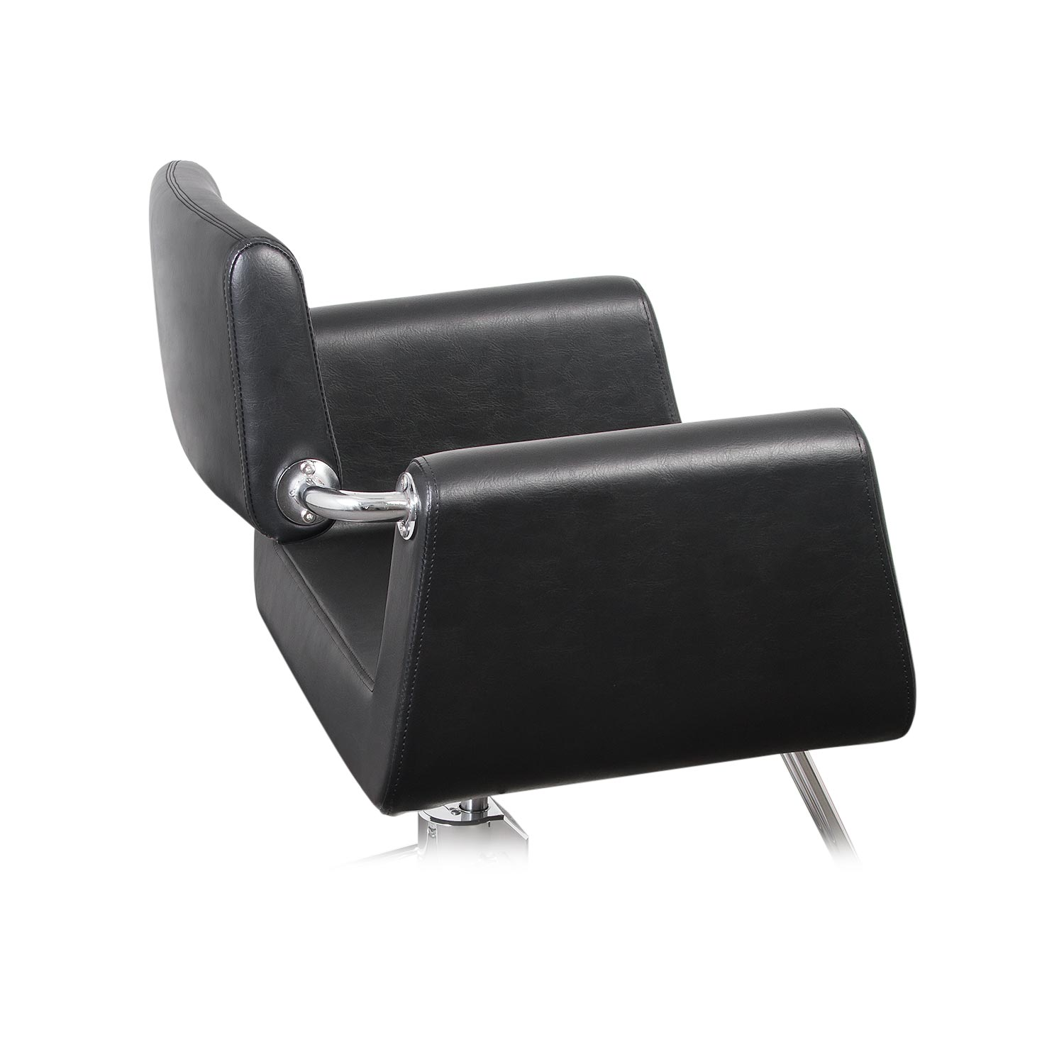 Capelli Modern Hair Chair with Chrome Elbow Brackets alternative product image 6