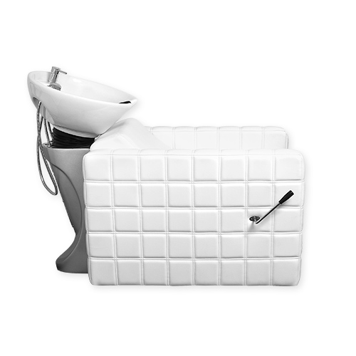 Chelsea Quilted Shampoo Bowl and Chair White alternative product image 1
