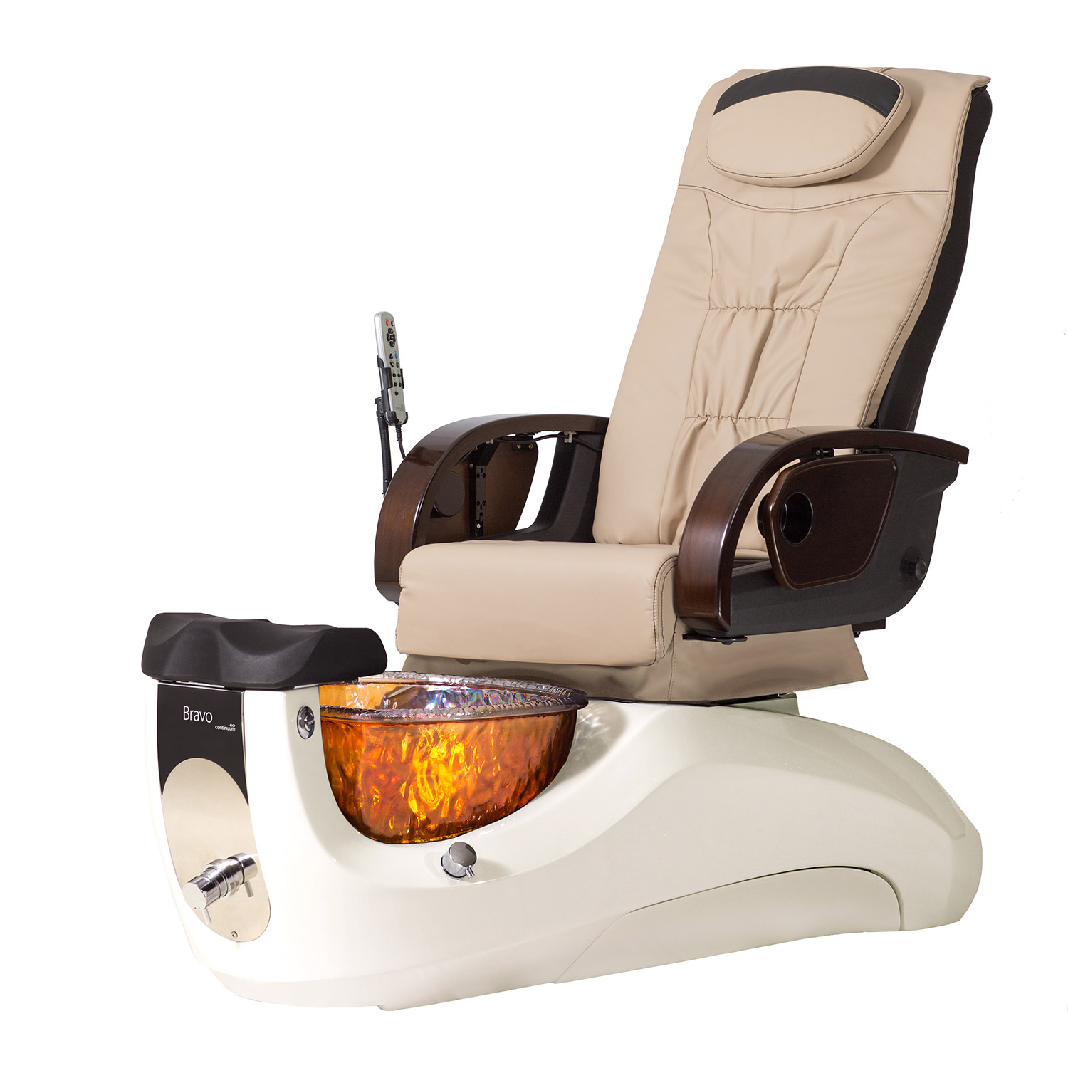 Continuum Bravo with Glass Basin Pedicure Spa Chair alternative product image 3