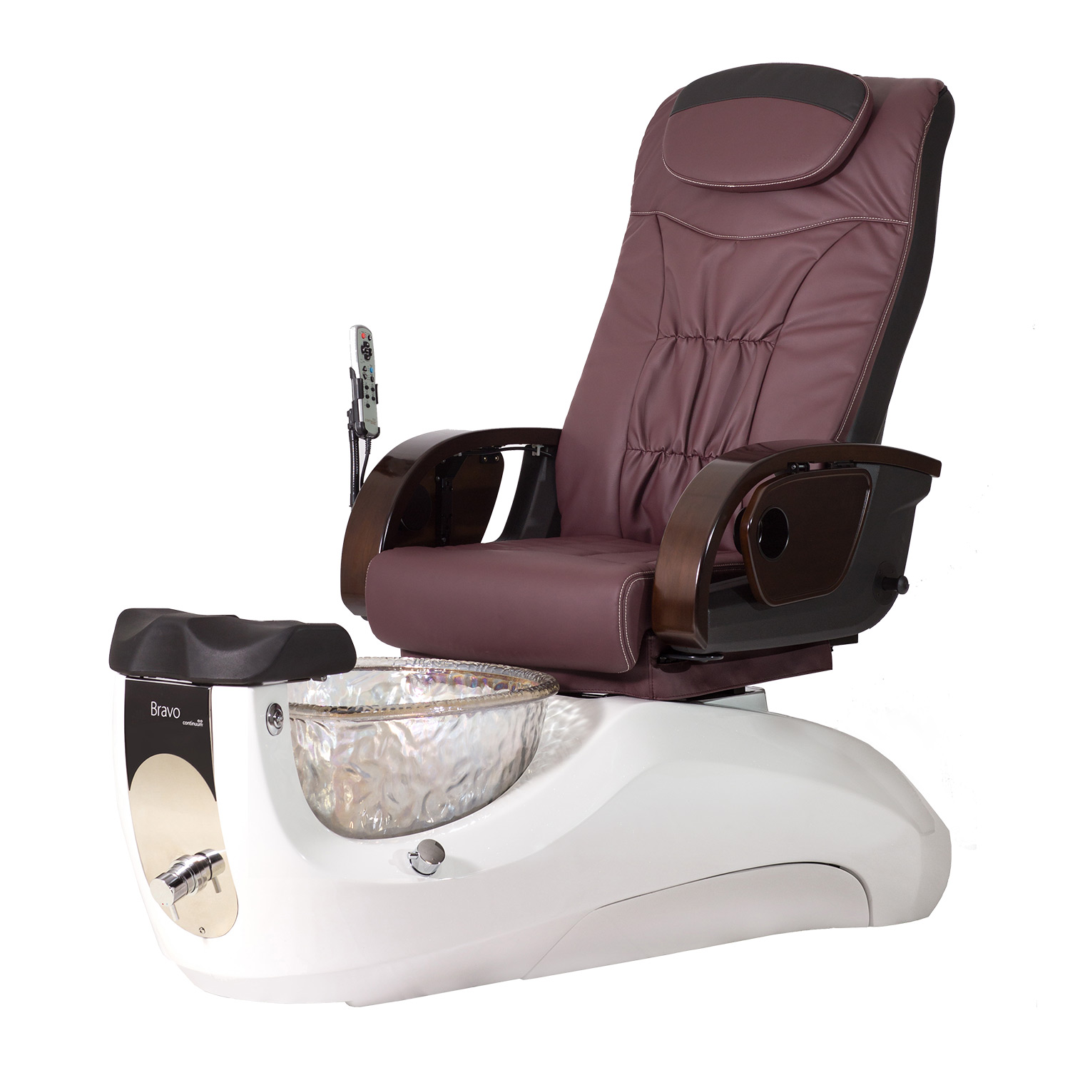Continuum Bravo with Glass Basin Pedicure Spa Chair alternative product image 10