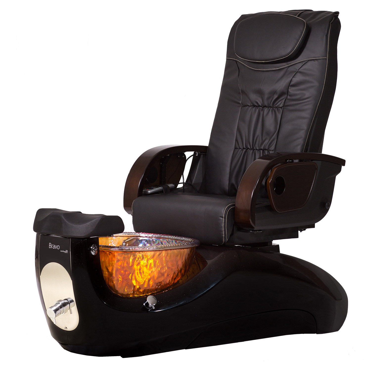 Continuum Bravo with Glass Basin Pedicure Spa Chair alternative product image 2