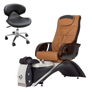 Continuum Footspas Echo Plus LE Pedicure Spa Chair product image