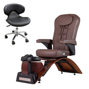 Continuum Simplicity-SE No Plumbing Pedicure Spa Chair product image