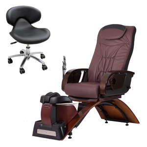 Continuum Simplicity Plus-LE No Plumbing Pedicure Spa Chair product image