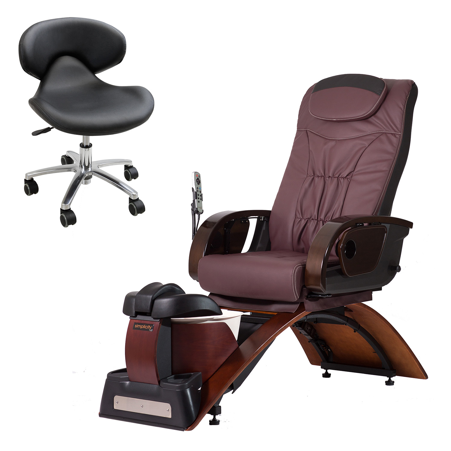 Continuum Simplicity Plus-LE No Plumbing Pedicure Spa Chair  main product image