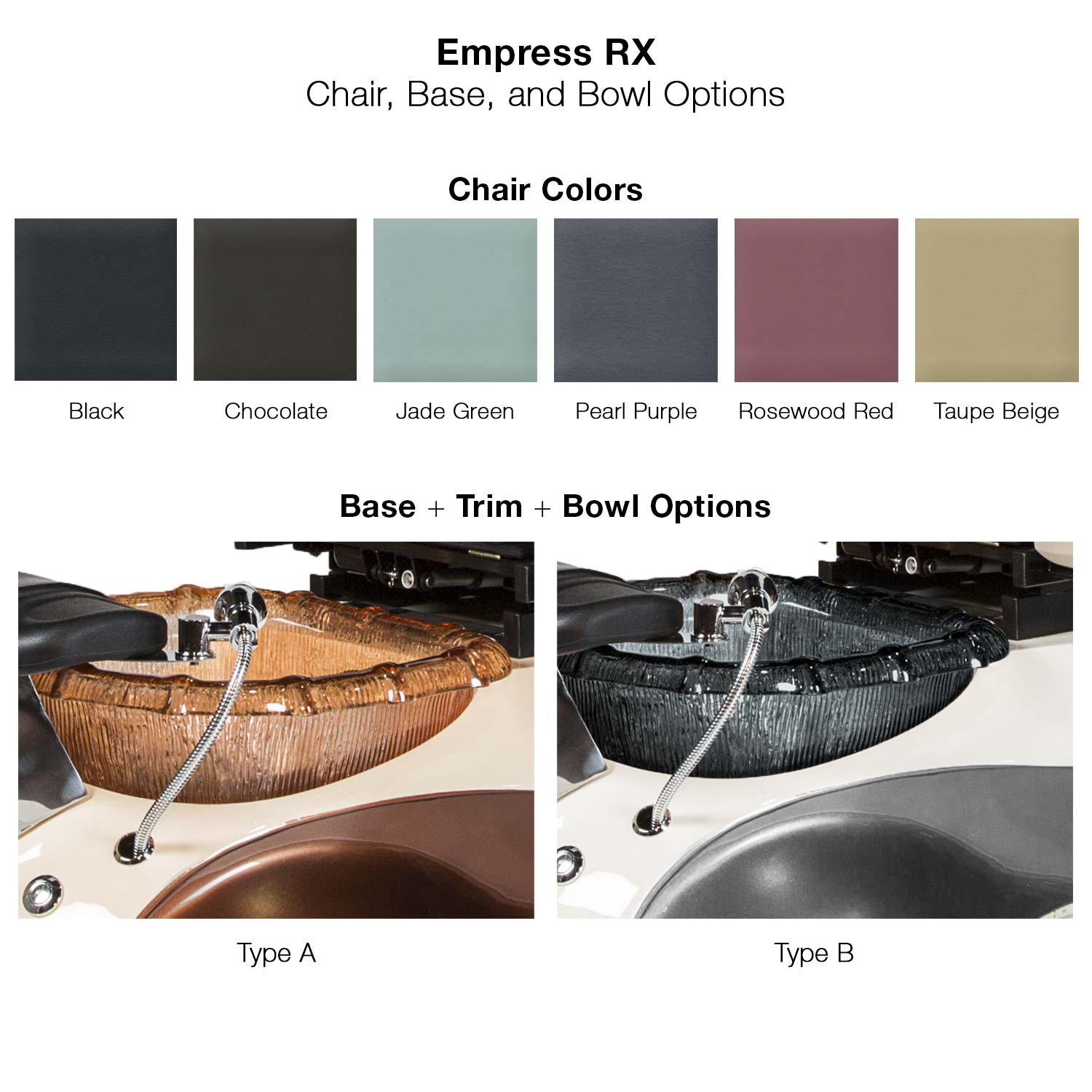 Empress RX Pedicure Spa Chair alternative product image 3
