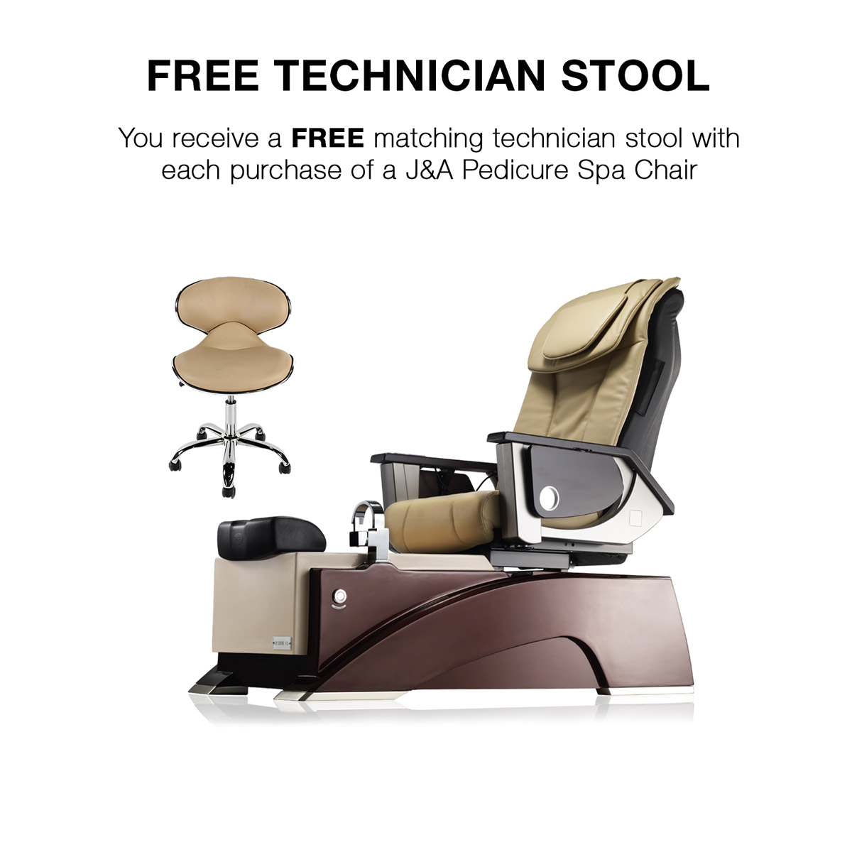 Episode LXP Custom Pedicure Massage Spa Chairs alternative product image 2