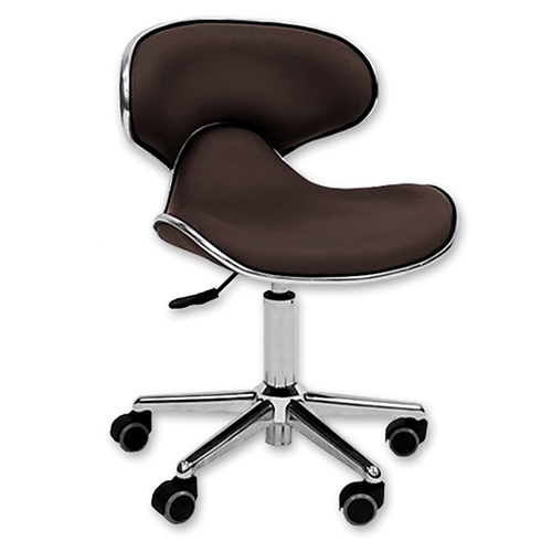 Ergonomic Salon Stool  Brown alternative product image 1