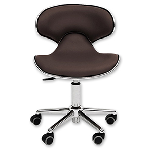 Ergonomic Salon Stool  Brown product image