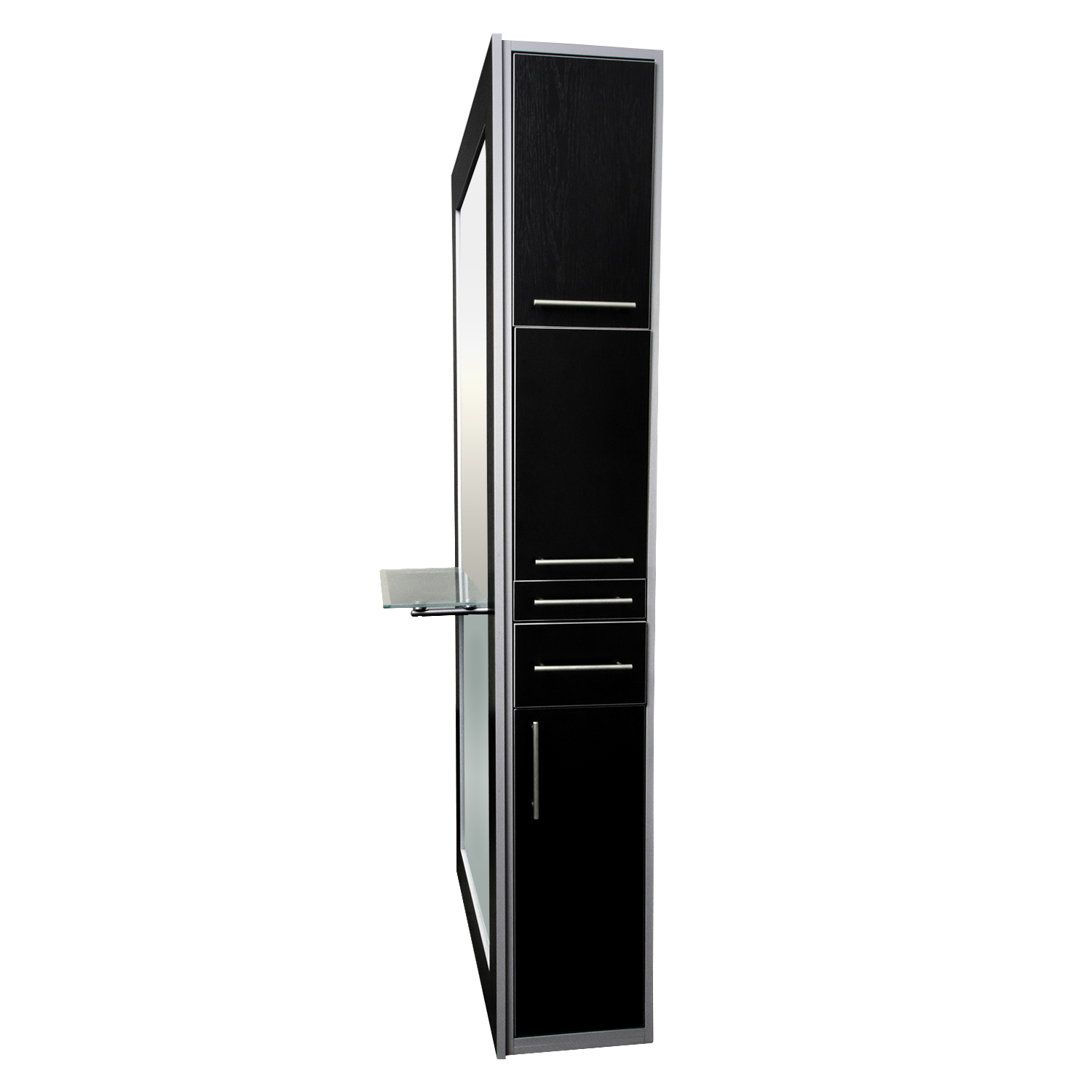 Fusion Mirrored Styling Station Black alternative product image 4