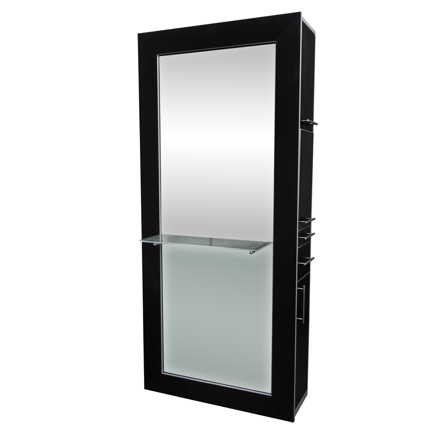 Fusion Mirrored Styling Station Black  main product image