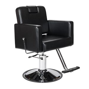 Black Havana All-Purpose Reclining Chair with Headrest product image