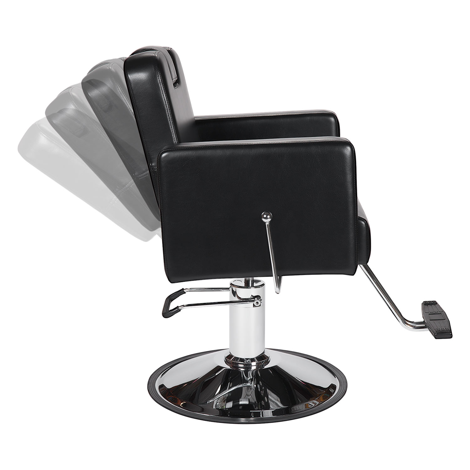 Black Havana All-Purpose Reclining Chair with Headrest alternative product image 2