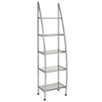 Salon Retail Display Silver Shelf product image