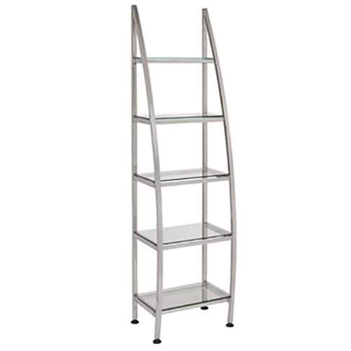 Salon Retail Display Silver Shelf  main product image