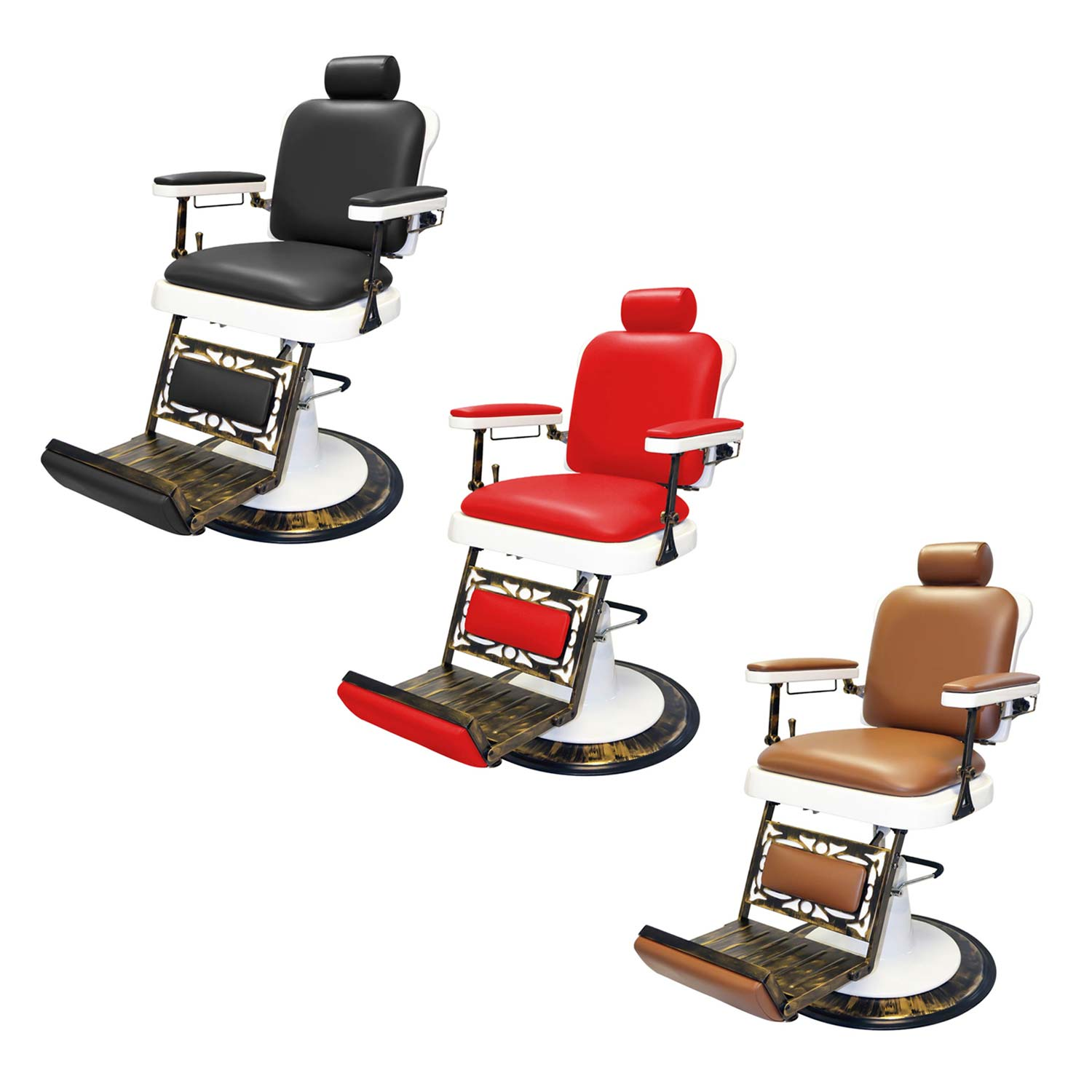 Pibbs 662 King Reclining Barber Chair alternative product image 4