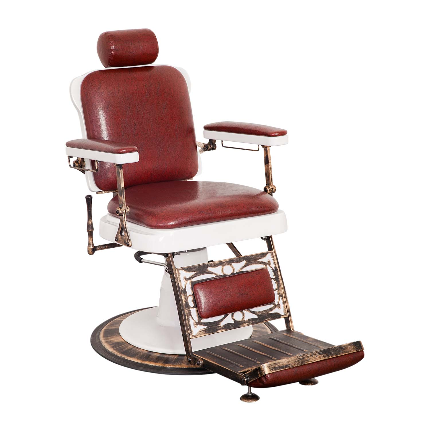 Pibbs 662 King Reclining Barber Chair  main product image