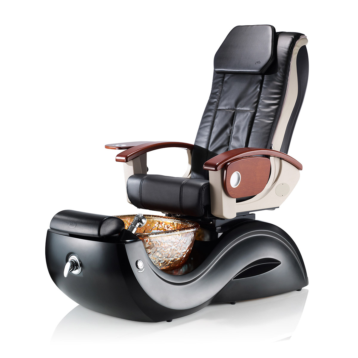 Lenox GX Pedicure Spa Chair with Massage & Glass Bowl  main product image