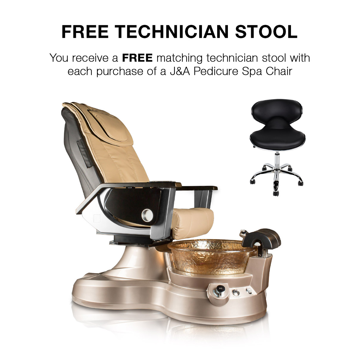Lenox LX Pipeless Pedicure Spa Chair alternative product image 2
