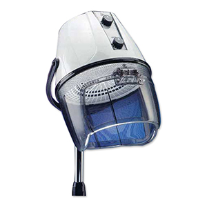 White Italian-Made Rondo Dryer on Chrome Stand product image