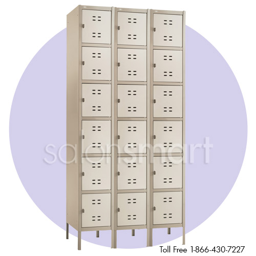 Spa and Salon 3 Column Box Lockers alternative product image 1