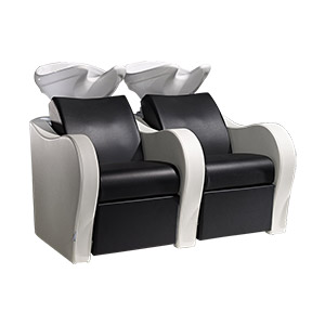 Luxury Sofa Salon Sink and 2 Chair Combo by Salon Ambience product image