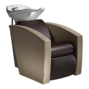 Mirage Shampoo Bowl with Chair by Salon Ambience product image
