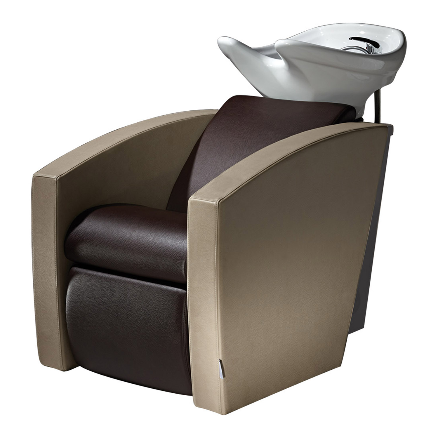 Mirage Shampoo Bowl with Chair by Salon Ambience  main product image