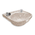 Marble Products Model 200 Granite-Look Bowl with Dial-Flo product image