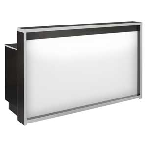 LED Moonlit Large Salon Reception Desk product image