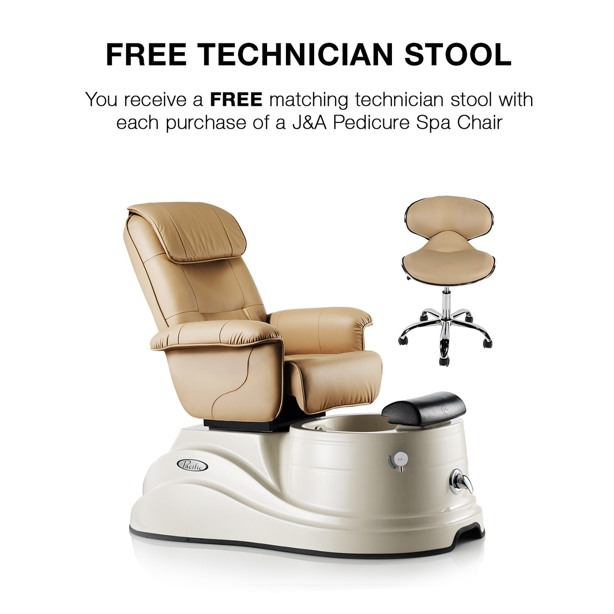 Pacific DS Day Spa Pedicure Spa Chair alternative product image 3