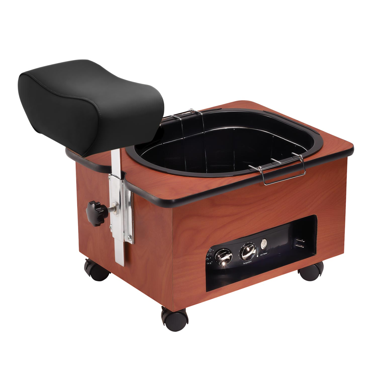 Pibbs Pedi-N-Go Pedicure Station With Cherry Wood Laminate  main product image