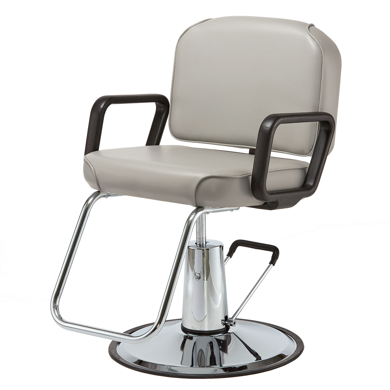Pibbs 4306 Lambada Hair Styling Chair with Square Arms  main product image