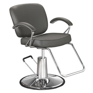 Pibbs 5906 Samantha Hair Salon Chair with Padded Arms product image