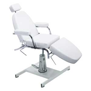 Pibbs HF809 Facial Chair With Hydraulic Base (Off-White) product image