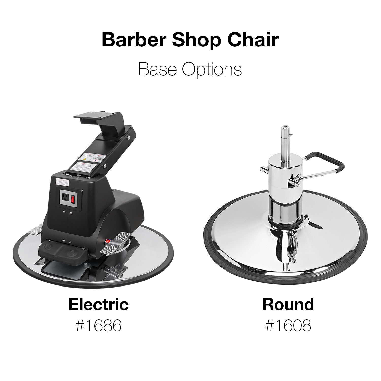 Pibbs 660 Grande Hydraulic Barber Chair alternative product image 3