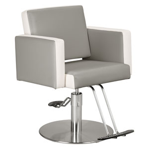 Pibbs 3406 Two-Tone Cosmo Stylist Chair product image
