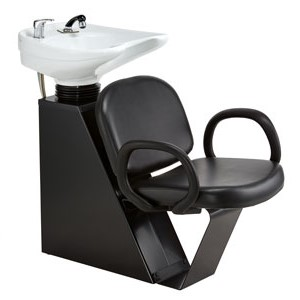 Pibbs 5274 Loop Shampoo Unit With Tilting Bowl product image