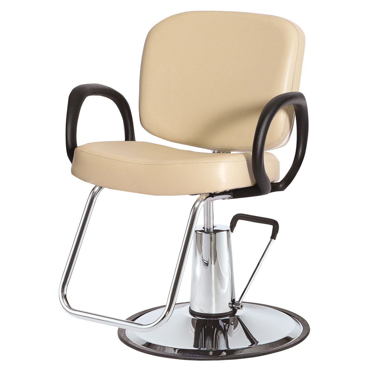 Pibbs 5406 Loop Hair Salon Styling Chair image size reference