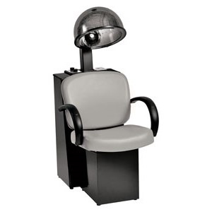 Pibbs 3669 Messina Salon Dryer Chair with Hooded Dryer product image