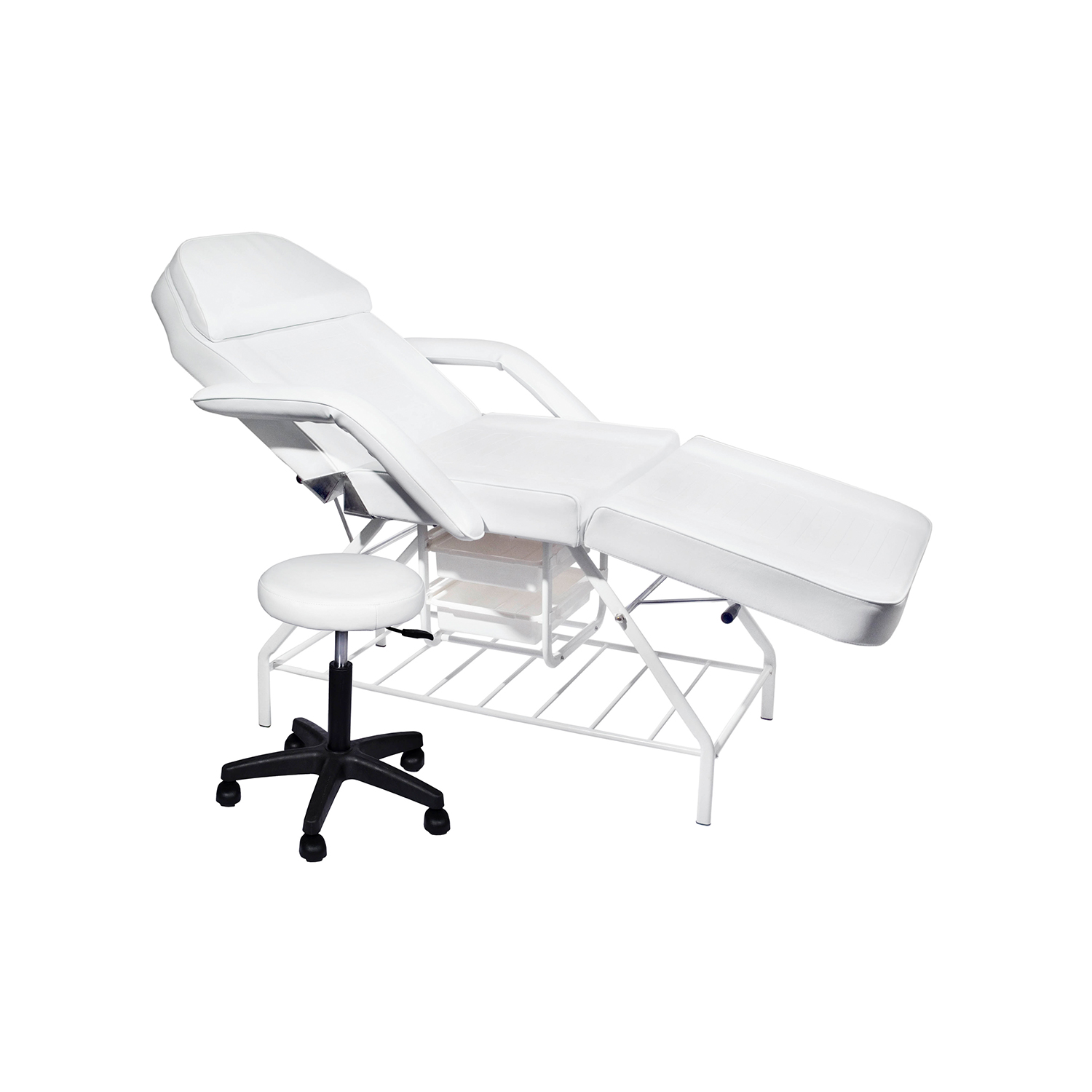Premium Facial Bed with Trays & Stool - Combo  main product image