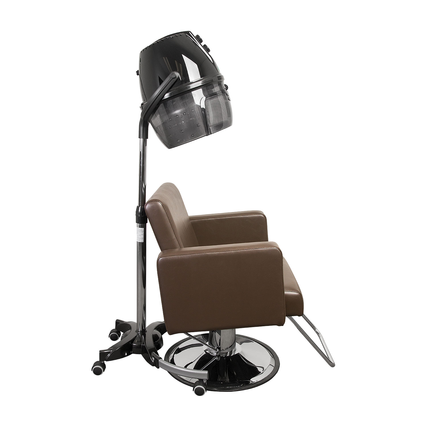 Black Brio Hooded Salon Hair Dryer On Wheels alternative product image 3