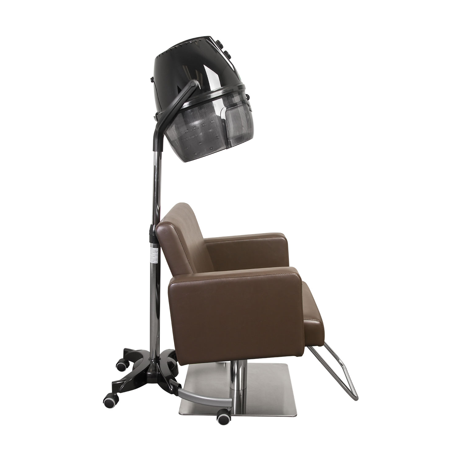 Black Brio Hooded Salon Hair Dryer On Wheels alternative product image 4