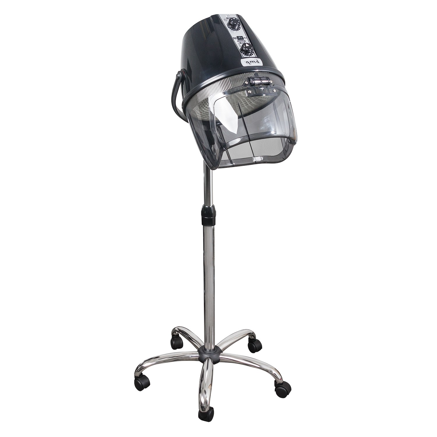 Black Italian Rondo Dryer on Chrome Stand product image