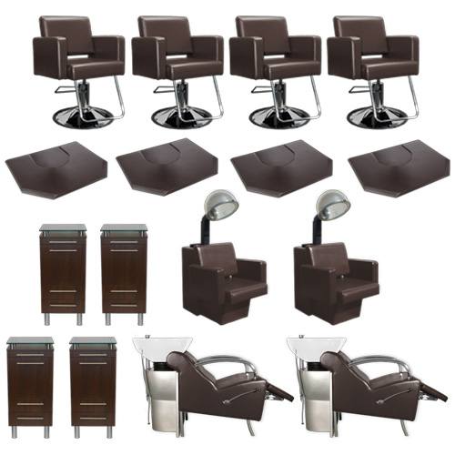 Havana Essentials Brown Collection - Four Stations  main product image