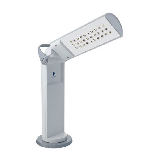 Daylight Portable LED Nail Table Lamp image size reference